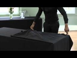 Tablecloth Sizing - YouTube