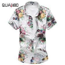 Fashion holiday <b>2019 New Summer</b> Casual Men's Short sleeve shirt ...