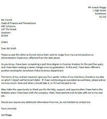 resignation letter example   career change   resignletter orgresignation letter example   career change