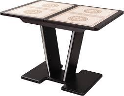 <b>Стол</b> кухонный <b>Домотека Каппа ПР</b> с центральной ножкой 03 ...