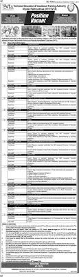 jobs in technical education and vocational training authority   jobs in technical education and vocational training authority 05 oct 2016
