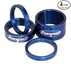 Hope Technology Space Doctor Headset Spacers for <b>1 1/8</b>