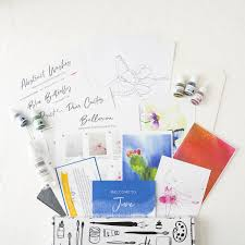 <b>Watercolor</b> Subscription Box– Let's Make Art