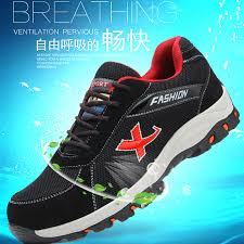 <b>Big Size 36-46</b> Fashion Safety Shoes Men Steel Toe Cow Suede ...