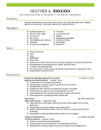 animal science resume examples   veterinary resumes   livecareerdanielle j    animal care and service resume   humble  texas