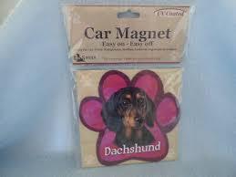 E&S <b>Pets</b> Dachshund <b>Dog</b> UV Coated <b>Car</b> Magnet ~ NEW ~ <b>Fast</b> ...