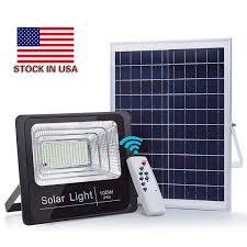 <b>100W Solar Floodlight</b> Outdoor Waterproof Street Lamp With ...