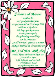 elopement party invitations new selections spring  chalkboard elope party invitations