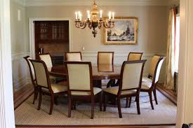 Round Table Dining Room Sets Large Round Table High Dining Table