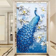 <b>5D DIY Diamond</b> Embroidery Animal,Peacock,<b>diamond</b> painting full ...