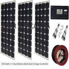 Solar Tech <b>300W</b> 12V Mono-Crystalline Solar Bundle Kit /Kit <b>Solaire</b> ...