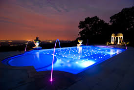 captivating pool lighting ideas to be applied awesome pool lighting ideas and plants decor also beautiful lighting pool