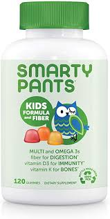 SmartyPants Kids Formula & Fiber Daily Gummy ... - Amazon.com