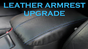 <b>Leather Armrest</b> Upgrade - YouTube