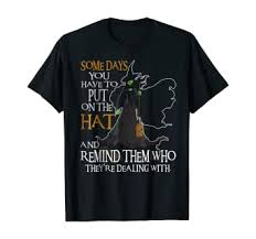 Halloween Witch Shirt - Some day you have to put on ... - Amazon.com
