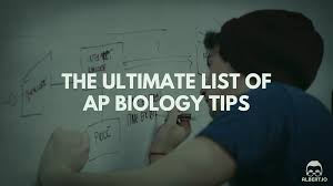 the ultimate list of ap biology tips io