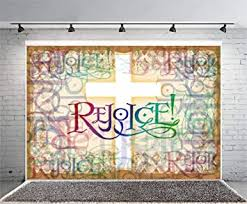 Leyiyi 7x5ft Vintage Cross Rejoice Photography ... - Amazon.com
