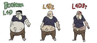 Left 4 Dead Projection: Boomer by JazzlasterBoris on DeviantArt via Relatably.com