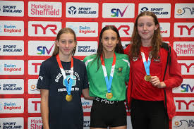 12-year-old Hollie Widdows shows blistering pace to win national gold