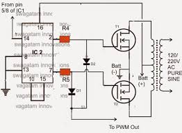 make this ic 556 pure sine wave inverter circuit Sine Wave Inverter Circuit Diagram Sine Wave Inverter Circuit Diagram #43 sine wave inverter circuit diagramusing 555