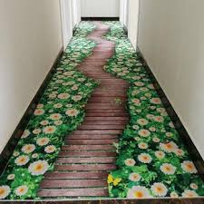 <b>3D Creative</b> Door Mat Plant Carpet Printing Hallway Carpets ...