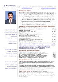 curriculum vitae samples of teachers resume builder