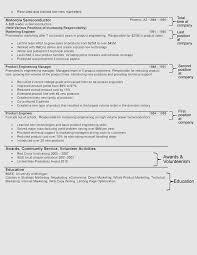 the hybrid resume formathybrid resume format   second page