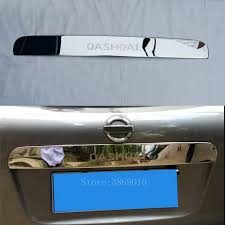 <b>Stainless Steel Car Rear</b> Trunk Tail Licence Plate Trim Cover Strip ...