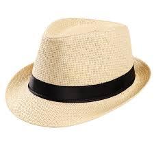 <b>Straw</b> Women's Men's <b>Summer Sun Hats</b> Fedora Cap <b>Summer</b> ...