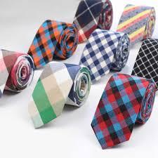 <b>Fashion Tie</b> Classic <b>Men's</b> Plaid <b>Necktie</b> Casual Tartan Suit ...