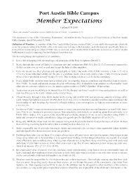 pabc accomplishments thus far servants news  1 the member expectations document