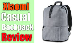 <b>Mi Casual Backpack</b> Review! - YouTube
