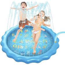 Outdoor Sport <b>Letter</b> A Z Water <b>Spray</b> Mat Pad Inflatable <b>Spray Mist</b> ...