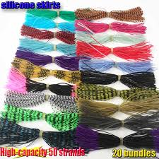 2017 new high capacity 50 strands 20kinds color bundles silicone ...