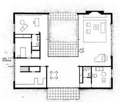 Glass houses  Philip johnson and House floor plans on PinterestPhilip Johnson  Hodgson House  Plan  New Canaan  Connecticut
