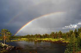 Risultati immagini per temporali estivi-arcobaleno immagini