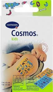 <b>Hartmann</b> Cosmos kids Пластырь для детей антибактериальный ...