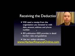 Receive A Tax Deduction By Making A Car Donation