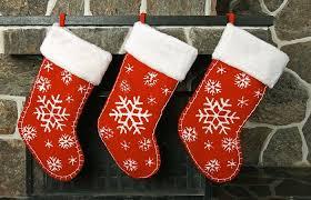 <b>Рождественский носок</b> своими руками из фетра или ткани