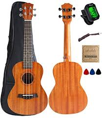 Amazon.com: <b>Concert Ukulele</b> Mahogany <b>23 inch</b> with Ukulele ...