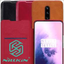Кожаный <b>чехол</b>-<b>книжка Nillkin Qin</b> для Oneplus 7 Pro - купить ...
