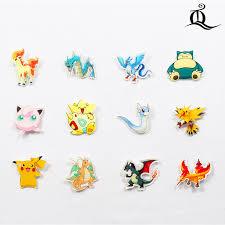 <b>Free shipping 1pcs</b> lovely mix acrylic Pokemon Accessories Fashion ...