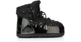 <b>Jimmy</b> Choo X <b>Moon Boot</b> 'buzz' Boots in Black - Lyst