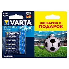 <b>Батарейки</b> алкалиновые <b>VARTA</b> Longlife Power AA+<b>AAA</b>, 8 шт ...