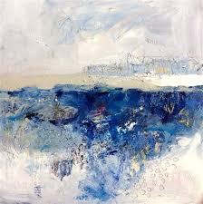 "Daily Paintworks - ""Ice <b>Lake</b>"" - <b>Original</b> Fine Art for Sale - © Jayati ..."