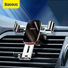 <b>Baseus Metal</b> Gravity <b>Car</b> Phone GPS Holder Air Vent Clip Mount ...