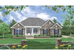 French Country House Plan   Square Feet and Bedrooms    Front