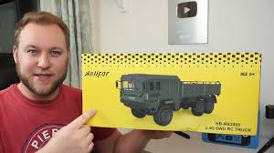 <b>Helifar HB</b>-<b>NB2805</b> 1:16 Military RC truck - ARMY GREEN - YouTube