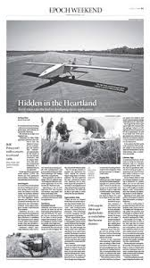 behance photos and layout on pinterest drones hidden in the heartlandepoch times newspaper editorialdesign