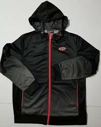 LOTTO Full Zip <b>100</b>% <b>Polyester</b> Athletic <b>Track</b> Soccer Jacket Gray ...